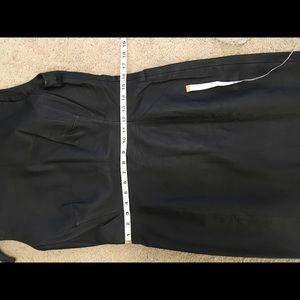 Newport News Dresses - Newport News leather sleeveless dress